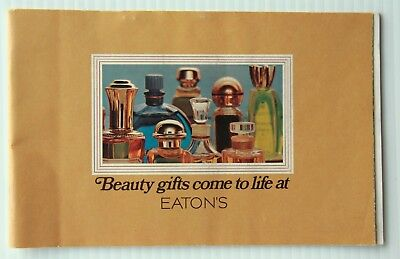 Eatons Beauty Products Gift Mail Flyer