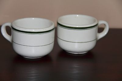 Grindley England Hercules Vitrified Cups
