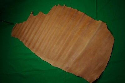 Light Tan Cowhide side 1.32 sq m Chrome tanned regular 1.4 mm Cow hide leather