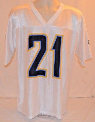 Los Angeles San Diego Chargers Tomlinson Jersey White Away NFL Players Mens  M 807484aa0