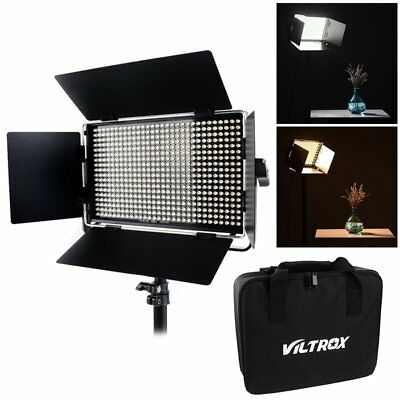 VILTROX VL-40T 40W Studio Video Photography Dimmable LED Light Lamp 3950 Lumens