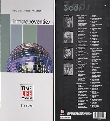 TIME LIFE Presents ULTIMATE SEVENTIES Long Box 3 CD Long Cool Decade 48 Hits 70s