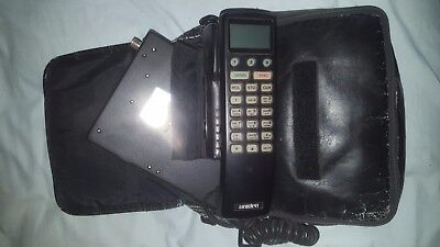 Uniden CP 1900 Vintage Mobile Phone Cellular Telephone with Carry Case