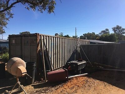 40ft Std. Shipping Container. 'As Is' Condition.