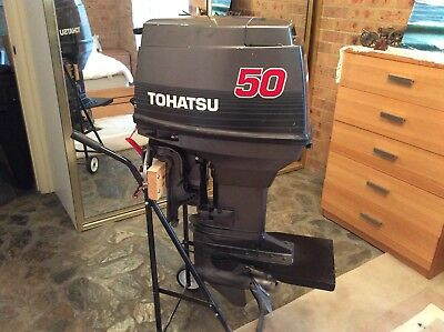 Outboard Tohatsu 50 Hp Thunder Duck