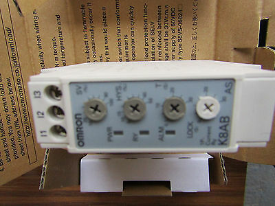 Omron Current Monitoring Relay with SPDT Contacts 1 Phase 200-230Vac O2 6118456