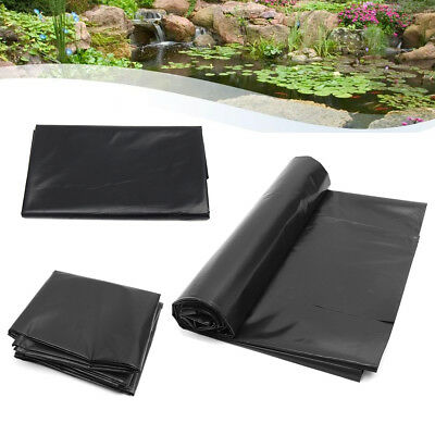 1.5X3M HDPE Pond Liner Heavy Duty Landscaping Garden Pool Waterfall Liner Cloth