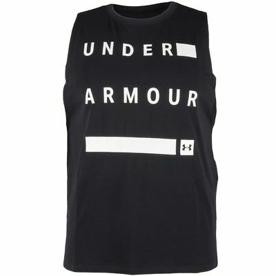Under Armour Exploded Wordmark Muscle Damen Trainingstop Fitness Shirt 1308941