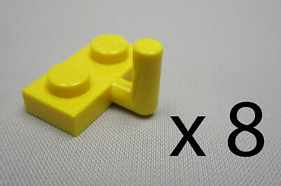 a9065. 8, Lego 1 x 2 Plates With A Hook - Yellow