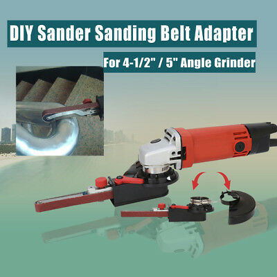 115/125  Sanding Belt Adapter Changed Angle Grinder into Sander Sanding Machine