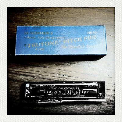Hohner 'Truetone' P3 Pitch Pipe - A440, Made in Germany, chromatic, all 12 notes