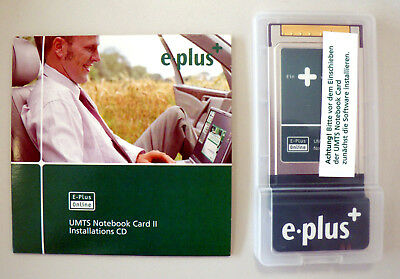 e-plus UMTS Notebook Card II GT 3G Quad PCMCIA
