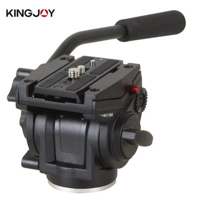 NEW KINGJOY VT-3510 Heavy Duty Video Camera Tripod Action Fluid Drag Head F7