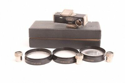 Zeiss Ikon Contameter 1343 close up set for contax. Good condition.