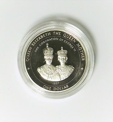 1997 Bermuda Proof Silver Dollar - .4758 ASW !