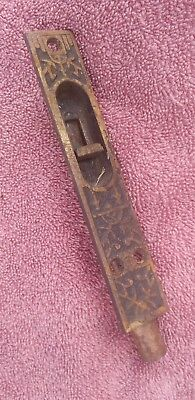 Antique cast iron east lake french door hardware latch