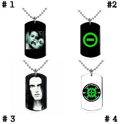 Type O Negative - Colgante, Dog Tag, Placa militar