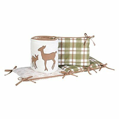 Trend Lab Deer Lodge Crib Bumpers, Green