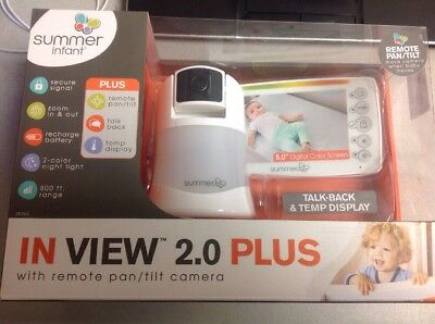 Summer Infant In View 2.0 Plus Video Monitor