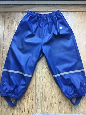 Muddy Puddles Waterproof Trousers 18-24 Months unisex