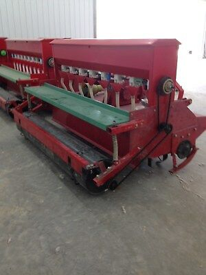 heavy duty 3 point 7 ft. rotary tiller and seeder tractor tiller