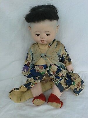 Collectable Vintage Chinese Doll traditional dress