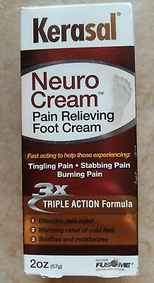 Kerasal neurocream 2 oz bottle neuro cream Exp 05/2017