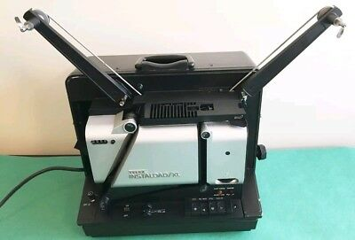 Telex Instaload XL 16MM Portable Case Sound Film Projector AS IS PARTS ONLY!