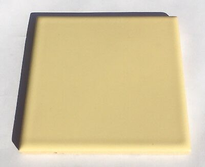 4x4 Vintage Tile in Soft Yellow -1 Sq Ft- Surplus- 'Romany'