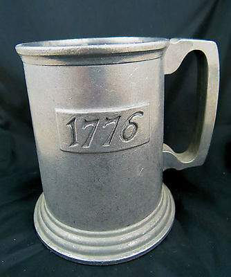 "Vintage Cup Mug Beer Italy Shoot 1776-1779 Eales Metal 4 1/8"" Tall 5 1/4"" Wide"