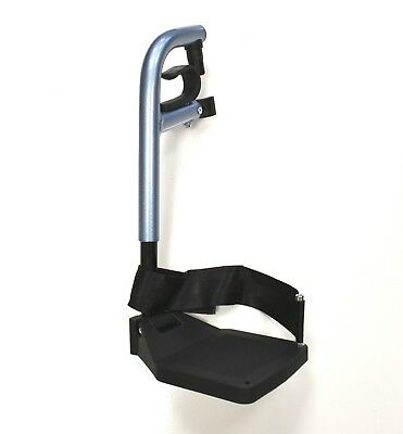 Footrest Leg Rest For Aktiv Wheelchairs X3 X5 Left, Right & Pairs Available Blue