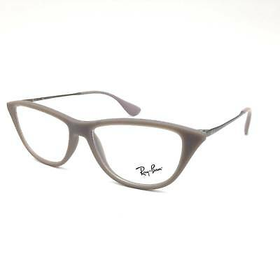4f650a87077  310 Ray-Ban Womens Brown Eyeglasses Frames Glasses Optical Clear Lens Rb  7042