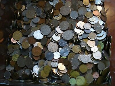 5 Lbs Of Mixed Foreign Coins Unsearched Looks Like A Great Mix No Junk Drawer