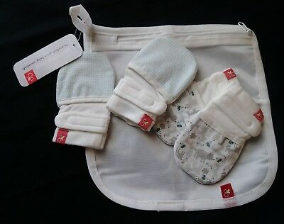 Goumikids Goumimitts Soft Stay On Scratch Mittens -2 pairs with laundry bag