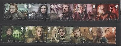 Gb 2018 Game Of Thrones Stamp Set