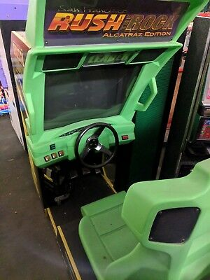 Rush the Rock Arcade Game  NO RESERVE!!