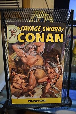 The Savage Sword of Conan Volume 3 Dark Horse Books TPB Roy Thomas Barry Smith