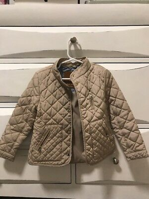 Zara Quilted Jacket Girls Size 4/5