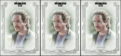 3x FALLEN WAVE 3 NICHOLAS The Walking Dead Trader Digital Card