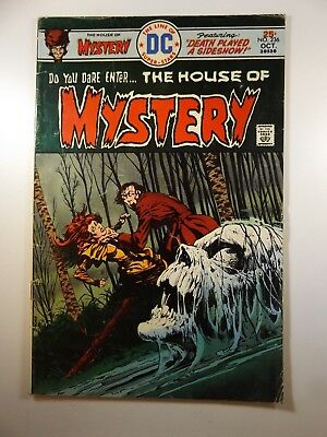 "House of Mystery #236 ""Death Played A Sideshow!"" Solid VG- COndition!!"