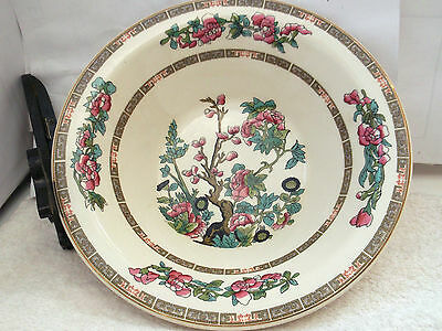 1974 Lord Nelson Pottery Open Rimmed Serving Bowl In Indian Tree  Pattern