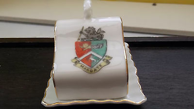 Gemma Crested China Miniature Cheese Dish Crested Margate