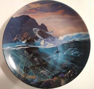 """Bradford Exchange The World Beneath The Waves Plate #8 """"All the Miracles to See"""""""