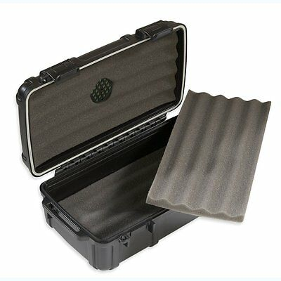 Herf A Dor X10 Cigar Caddy Travel Humidor Holds 10 Cigars! Waterproof! Save 47%!