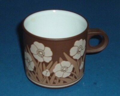 """Hornsea,     Trial  mug  with  designers marks on  base,  """" VERY RARE """" (340)"""