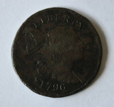 1796 LIBERTY CAP LARGE CENT,  S-81, R3,  Combined Shipping