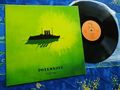 POTEMKINE  ♫ FOETUS FRANCE 1st PRESS 1976  ♫ RARE TOP LP #11A