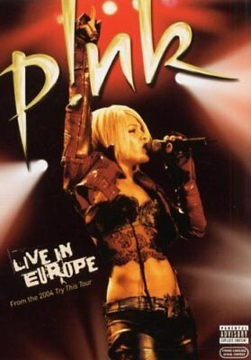 [DVD] Pink : Live in Europe - NEUF