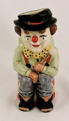 "Royal Doulton Character Toby Jug The Clown D6935 Limited Edition 5 1/2"" Medium"