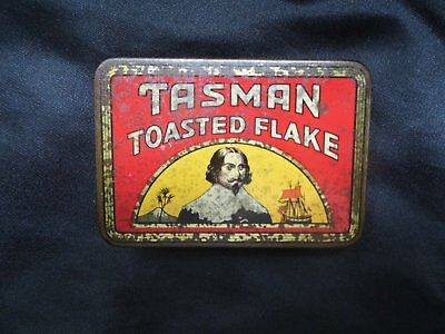 Vintage Tobacco Tin - Tasman Toasted Flake